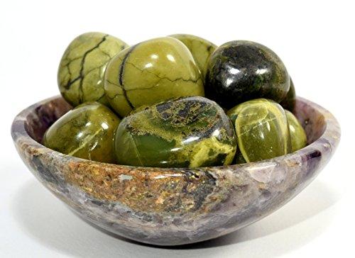 ne Pebble Opalized Stone Polished Cabochon Crystal Cab Specimen from Peru - 5 PCS ()