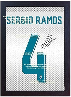 SGH SERVICES New Sergio Ramos Real Madrid - Camiseta de Manga ...
