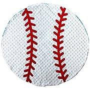 Mud Pie Baby Boy Soft Sports Minky Baseball Blanket