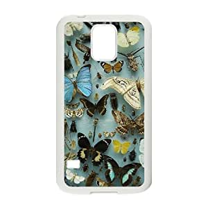 ZK-SXH - Butterfly Custom Case Cover for SamSung Galaxy S5 I9600, Butterfly DIY Phone Case