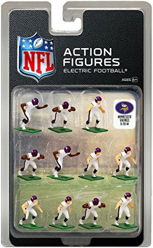 - Minnesota Vikings Away Jersey NFL Action Figure Set