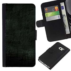 All Phone Most Case / Oferta Especial Cáscara Funda de cuero Monedero Cubierta de proteccion Caso / Wallet Case for Samsung Galaxy S6 EDGE // Simple Pattern 7