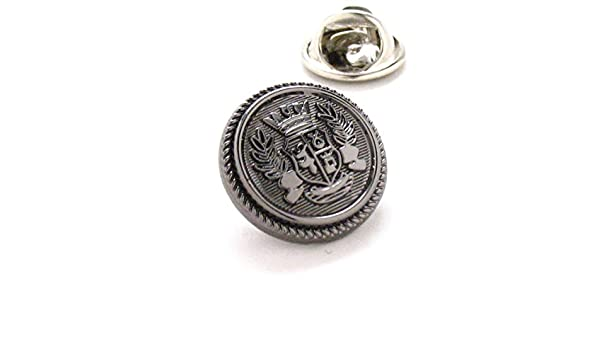 Royal Crest Tie Tack Pin de solapa traje Servicio Secreto Queens ...