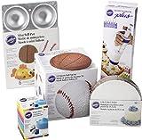wilton ladybug cake pan - Wilton So You Want to Bake a Sports Ball Cake Set