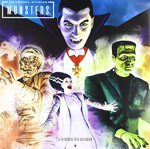 Book cover from Classic Monsters Wall Calendar (2019) by Day Dream