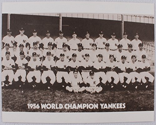 NY YANKEES 1956 WORLD SERIES CHAMPIONSHIP TEAM 11x14 MATTE FINISHED