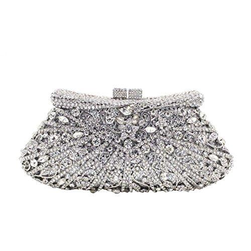 De C En Sac Luxe De Soirée à Diamant Main Diamond Sac Crystal awZdnqCEZ