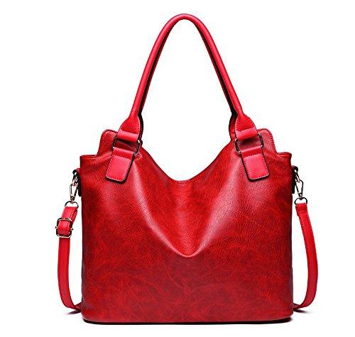 mujer Bolso para Yan al Rojo hombro Show Red Red gZBqX