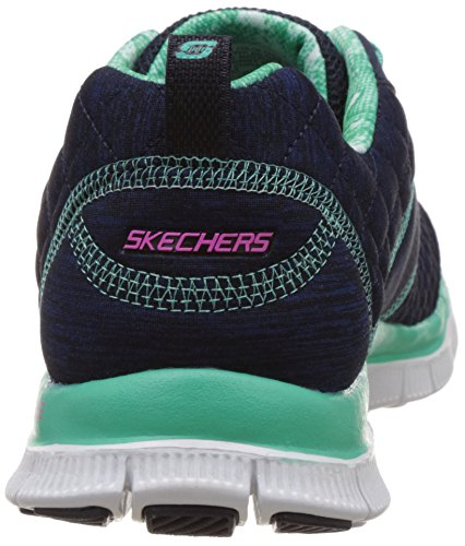 Appeal Sneaker Pretty Navy Fashion aqua Skechers Please Flex Sport Women's nxvqv8