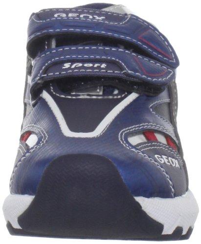 Geox Cstark2 Sneaker (Toddler/Little Kid),Blue/Red,22 EU(6.5 M US Toddler)