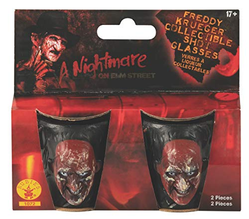 Nightmare on Elm Street Freddy Krueger Drinking Party Shot Glasses, Set of 2