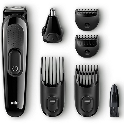 Braun 7-Piece Hair and Face Men's Trimming Grooming Kit