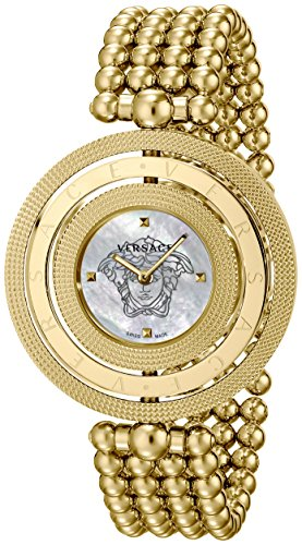 Versace Women's VQT060015 Eon Gold Ion-Plated Stainless Steel Watch