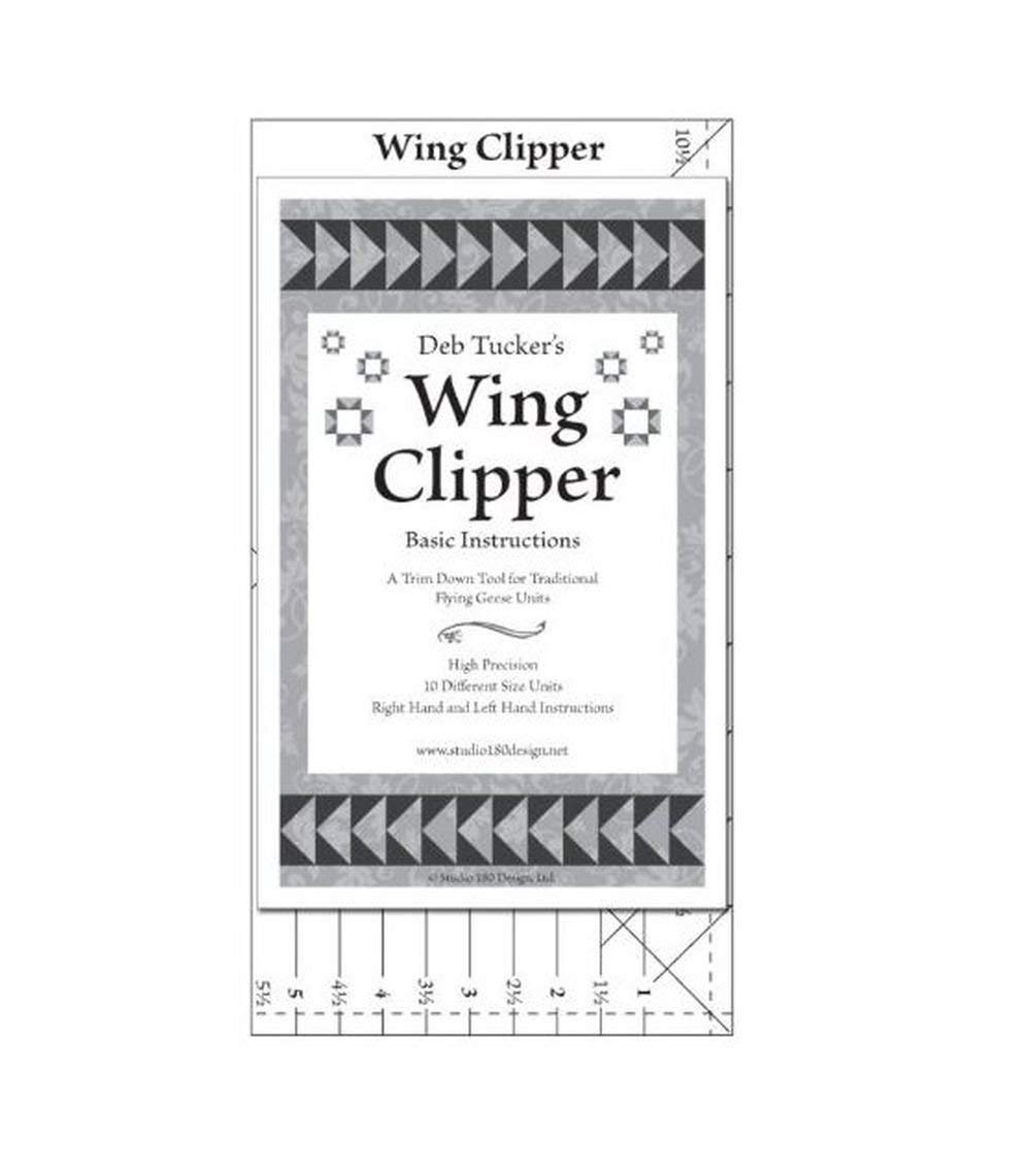 Wing Clipper quilting tool, trim down tool for Flying Geese Units by Studio 180 Design