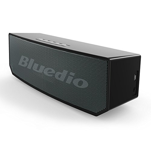 Click to buy Bluedio BS-5 (Camel) Portable Bluetooth Wireless Stereo Speaker with Microphone for Calls (Black) - From only $176.56