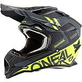 O'Neal Unisex-Adult Off-Road Style 2SERIES Helmet SPYDE black/hi-viz M (Med)