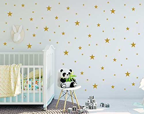Easma Star Wall Decals  Removablel Wall Sticker 3 Size Kids