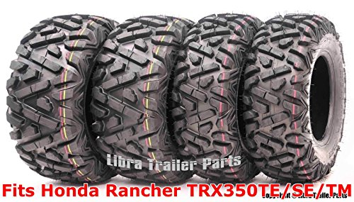 Set 4 WANDA ATV tires 24x8-12  25x11-10 00-06 Honda Rancher TRX350TE/SE/TM