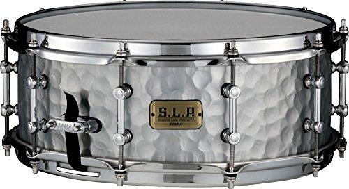 (Tama S.L.P. Vintage Hammered Steel Snare Drum - 5.5