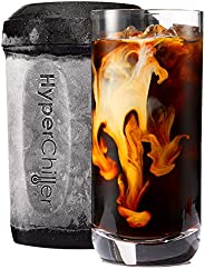 HyperChiller de Maxi-Matic HC2 enfriador instantáneo patentado para café/bebidas, listo en un minuto, reutiliz
