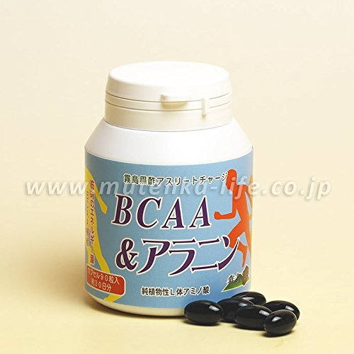 BCAA&アラニン 90粒 霧島黒酢 B07BX981TW