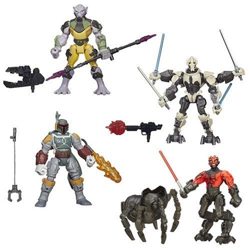 Star Wars Hero Mashers Deluxe Action Figures Wave 2 Case