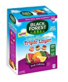 gummy fruit snacks bulk - Black Forest Triple Layer Fruit Snacks, Fruit Collision, 0.8 Ounce Bag, Pack of 40