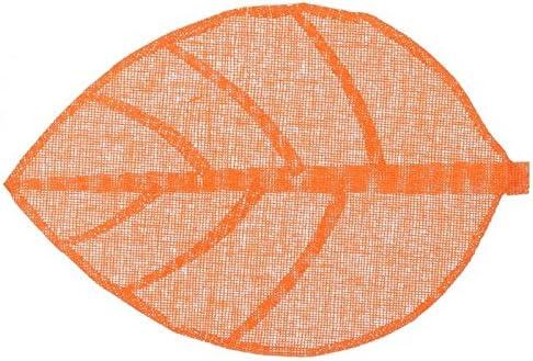 Set de TableFeuille 50x33cm Orange
