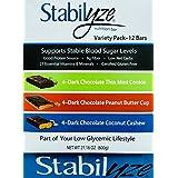 Stabilyze Low GI Nutrition Bar Variety Pack
