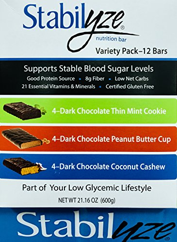 (Stabilyze Low GI Nutrition Bar Variety Pack)
