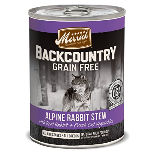 Merrick Backcountry Alpine Rabbit Stew Pet Food, 12.7-Ounce,
