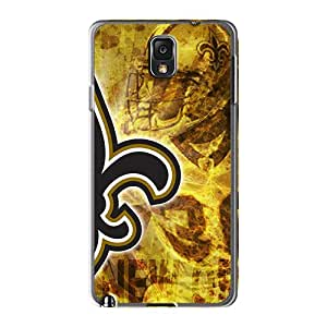 Durable Cell-phone Hard Covers For Samsung Galaxy Note 3 (sCB11141nSRV) Provide Private Custom Realistic New Orleans Saints Pattern