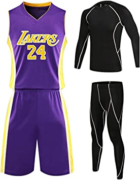 Camiseta de Baloncesto Kobe Bryant, Camiseta de Baloncesto Lakers ...
