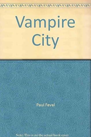 book cover of Vampire City