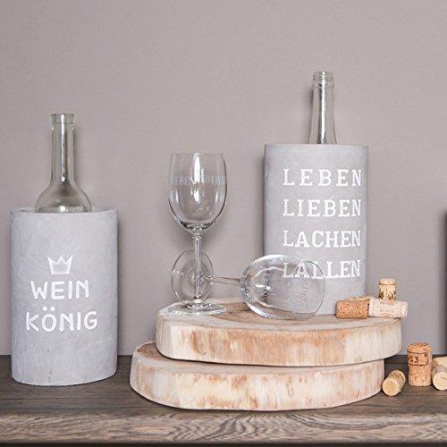 R/äder Vino Beton Weink/ühler Leben Lieben Lachen Lallen