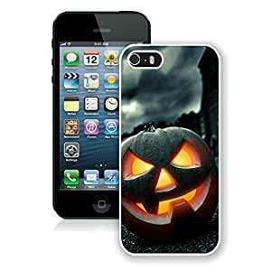 Popular Sell Iphone 5S Protective Cover Case Halloween Horror Nights iPhone 5 5S TPU Case 1 White