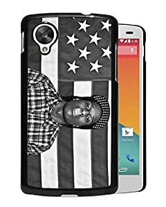 Beautiful Designed Cover Case For Google Nexus 5 With asap rocky 1 Black Phone Case