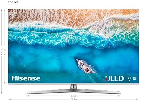 Hisense H55U7B, Smart TV ULED 4K Ultra HD, Dolby Vision HDR, HDR ...