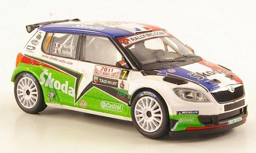 Skoda Fabia S2000, No.7, Rallye Monte-Carlo, 2011, Model Car, Abrex 1:43