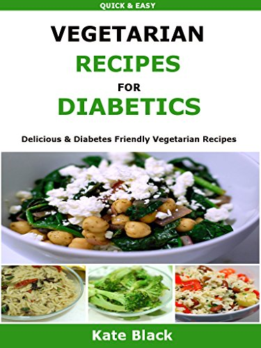 Vegetarian Recipes Diabetics Delicious Diabetes ebook product image