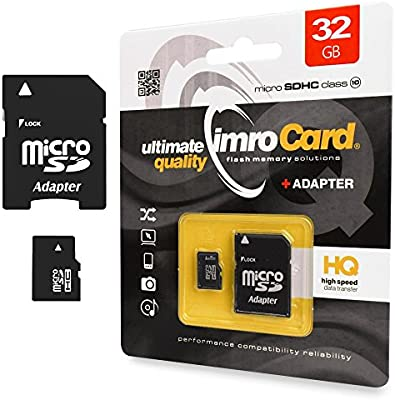 Tarjeta de memoria de 32 GB Micro SD HC Class 10 UHS-I de 1 ...