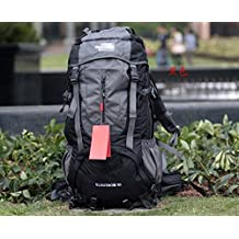 60L outdoor mountaineering bag travel shoulder sports bags bulk with rain cover