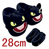 How to Train Your Dragon Toothless Night Fury Plush Slippers Shoes