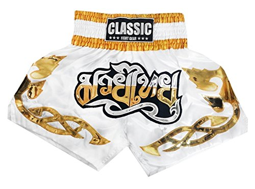 Classic Muay Thai Kick Boxing Shorts : CLS-007