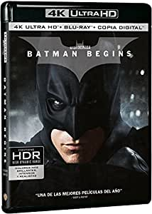 Batman Begins Blu-Ray Uhd [Blu-ray]