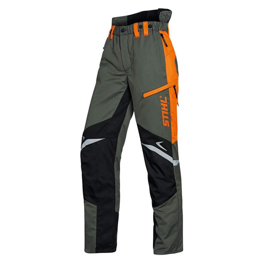 noir 1 orange 50 Stihl Pantalon de protection Fonction ERGO Vert olive
