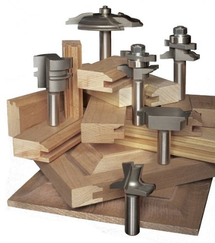 Eagle America 199-1861 Cove and Round Raised Panel Door Router Bit ...