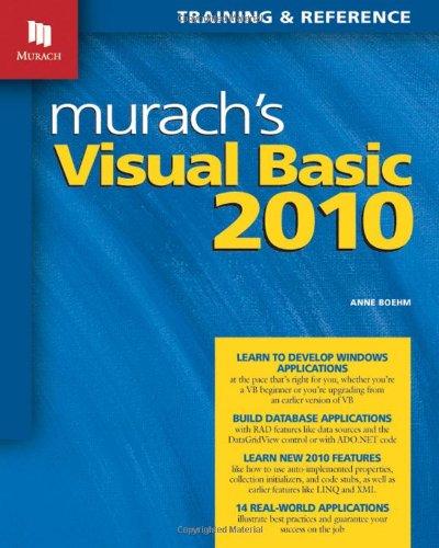 Murach's Visual Basic 2010