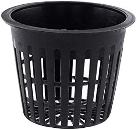 10pcs White Color Clone Cloning Collar Foam Hydroponic Mesh Pot Net Basket
