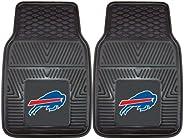 "Fanmats 8887 NFL Buffalo Bills Vinyl Heavy Duty Car Mat, 18"""